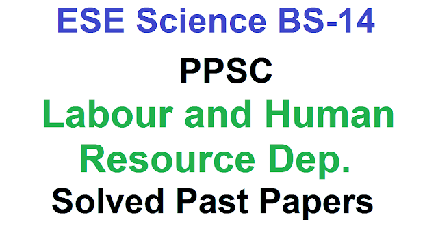 Past Papers of ESE Science Math