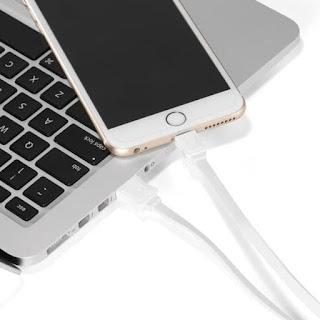Kabel Data VIVAN CL100 Lightning USB Charger Fast Charging 100CM 2.1A