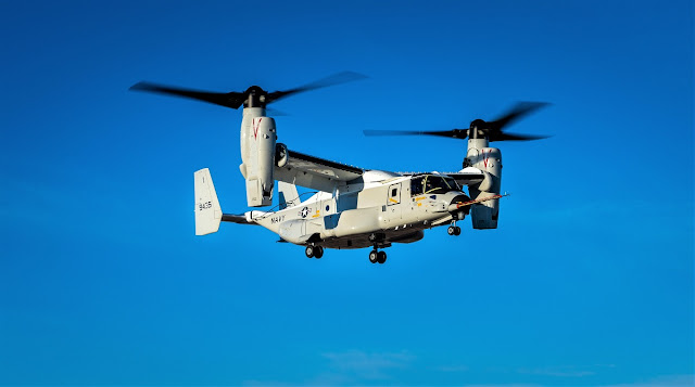 US Navy - Page 41 Bell-Boeing-CMV-22B-Osprey-Successfully-Completes-First-Flight-