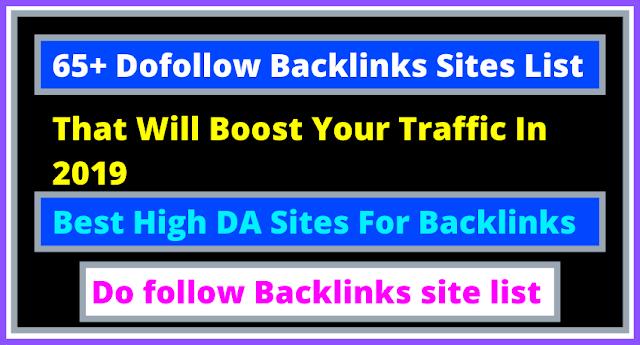Top 500 + High PR Do follow Backlinks site list