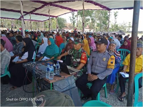 750 Sertifikat PTSL Dibagikan Kepada Warga Desa Baleharjo