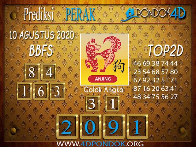 Prediksi Togel PERAK PONDOK4D 10 AGUSTUS 2020