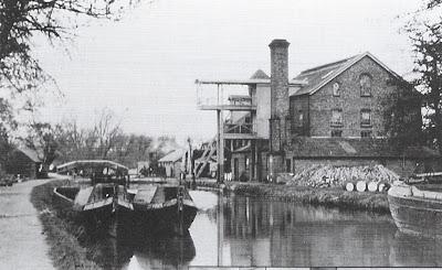 Oil Mill at Weybridge, 1924
