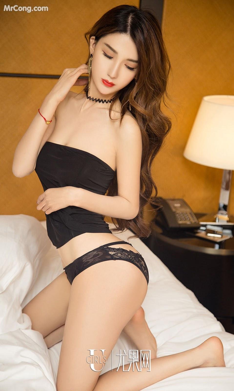 Image UGIRLS-Ai-You-Wu-App-No.1060-Li-Ya-MrCong.com-004 in post UGIRLS – Ai You Wu App No.1060: Người mẫu Li Ya (丽娅) (35 ảnh)
