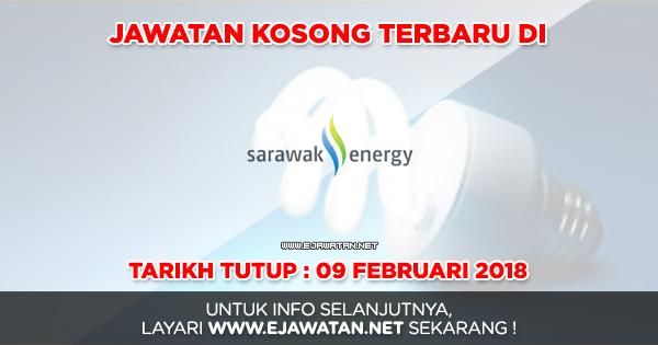 jawatan kosong sarawak energy 2018