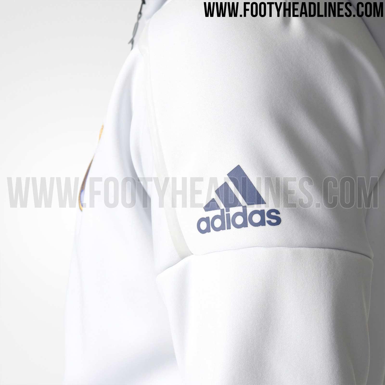 Con Capucha Real Diseña Nueva Para Adidas Chaqueta Madrid El Una fWq6WnHI