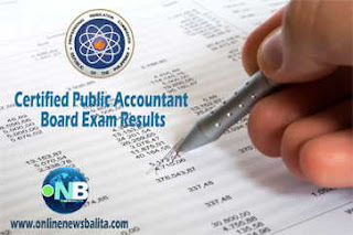 List of Passers: May 2017 Certified Public Accountant (CPA) Board Exam Results