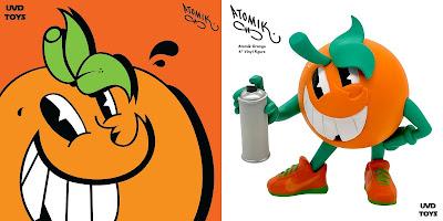 Atomik Orange OG Edition Vinyl Figure by Atomik x UVD Toys