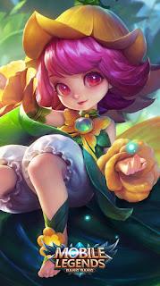 Change Floral Elfo Heroes Mage of Skins