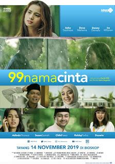 film 99 nama cinta, pemain film 99 nama cinta, Talia dan kiblat, Talia presenter gosip, lambe turah