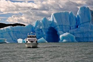 Argentina Honeymoon glaciers