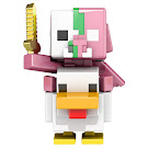 Minecraft Zombie Piglin Jockey Mini Miners Figure