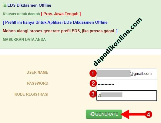 Cara Download Prefill PMP-EDS Dikdasmen 2020 Offline Versi COVID-19