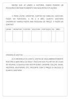 Histórias para atividades de matemática em Ensino Fundamental PDF Grátis