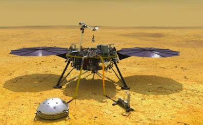 Gelombang Seismik Terdeteksi, Mars siap dihuni manusia