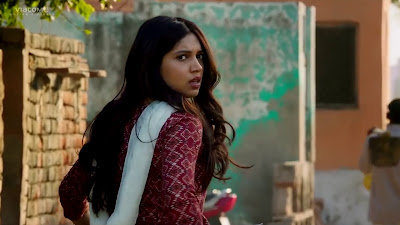 Bhumi Pednekar HD Wallpaper In Toilet Ek Prem Katha Movie