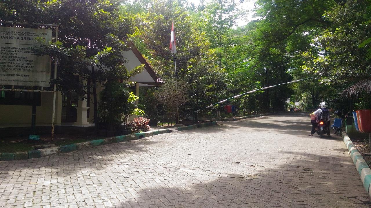 Pos Jaga Hutan Kota Srengseng