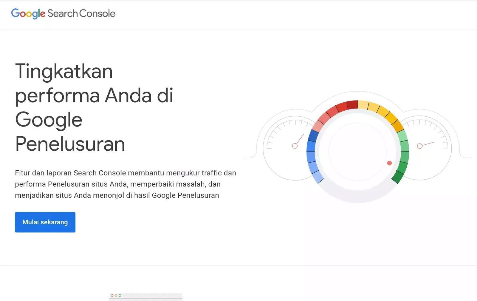 google webmaster setting