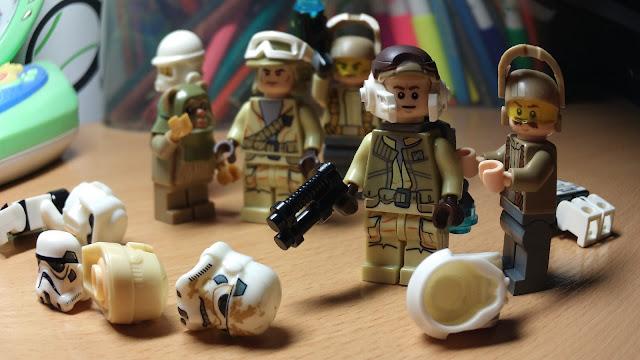 Фигурки лего солдаты повстанцев