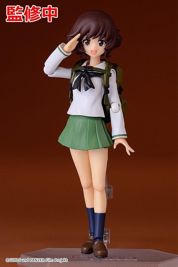 Yukari Akiyama de Girls Und Panzer