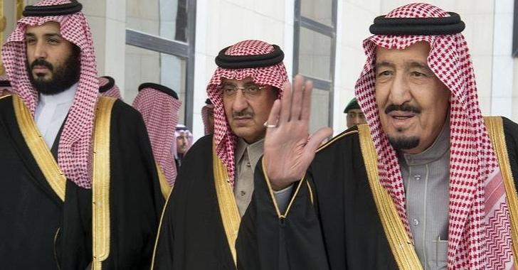 احمد بن عبدالعزيز ومحمد بن سلمان