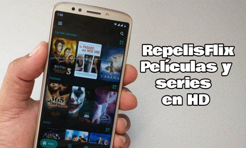 RepelisFlix - Películas y series en HD Android