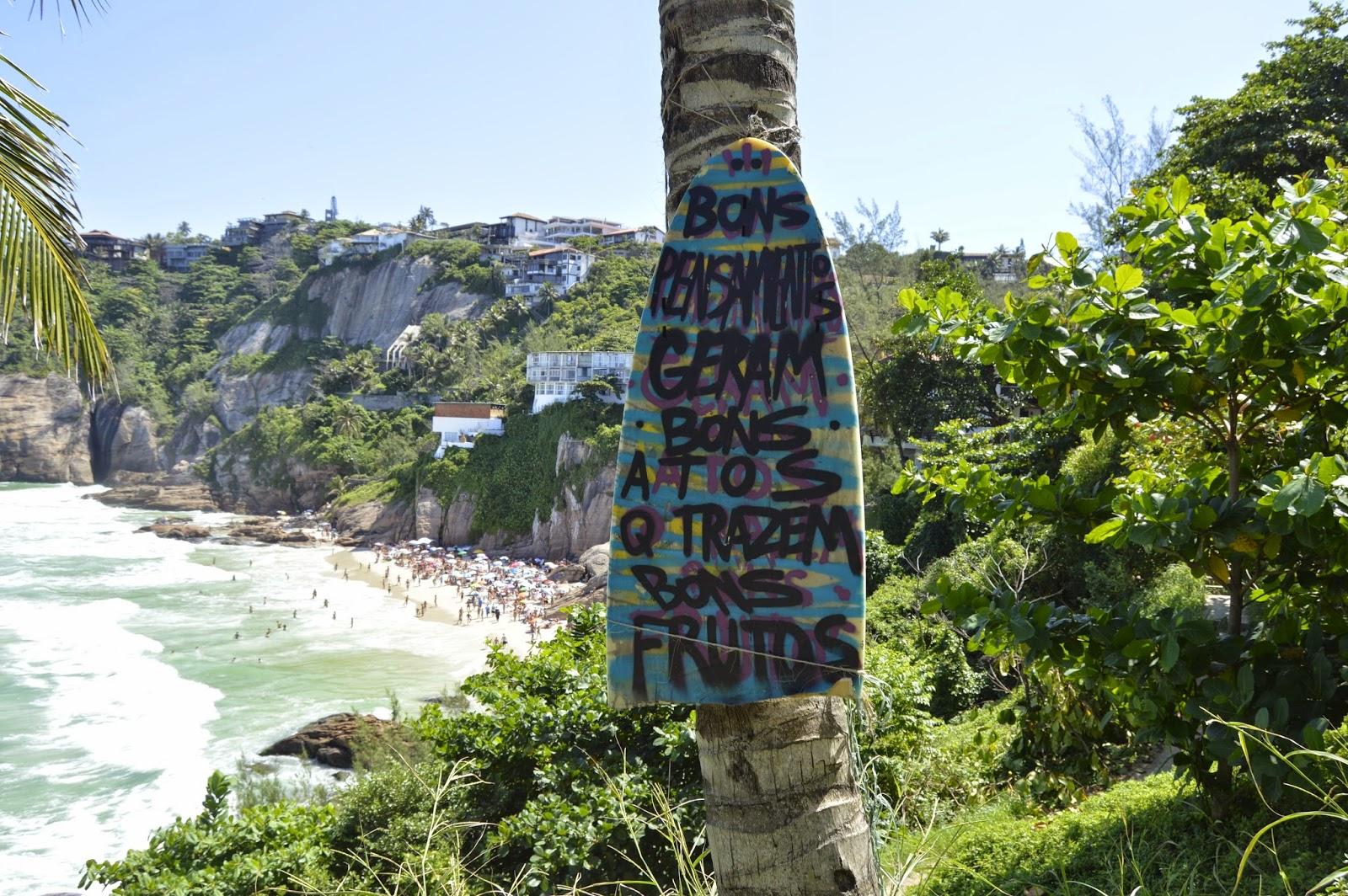 Praia da Joaquinha no Rio de Janeiro