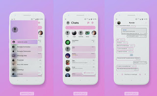 Kee Pink Theme For YOWhatsApp & Fouad WhatsApp