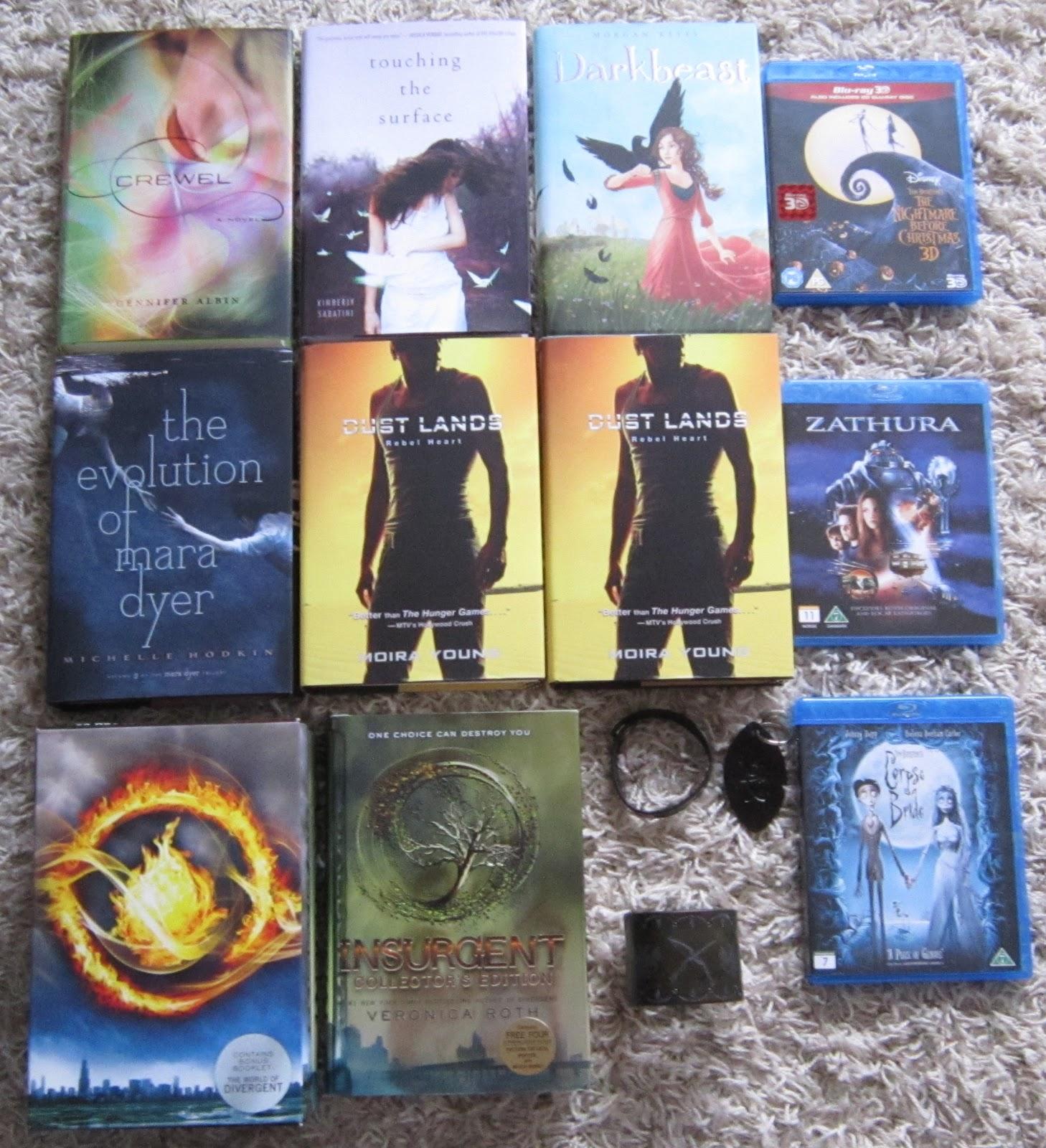 Carina's Books: In My Mailbox #53