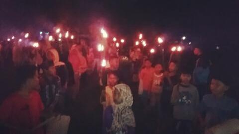 Desa Tanjong Bangun Mental Generasi Muda Melalui FAS dan Pawai Takbir