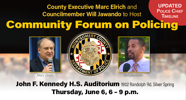 Paperless Airplane: County Executive Marc Elrich and