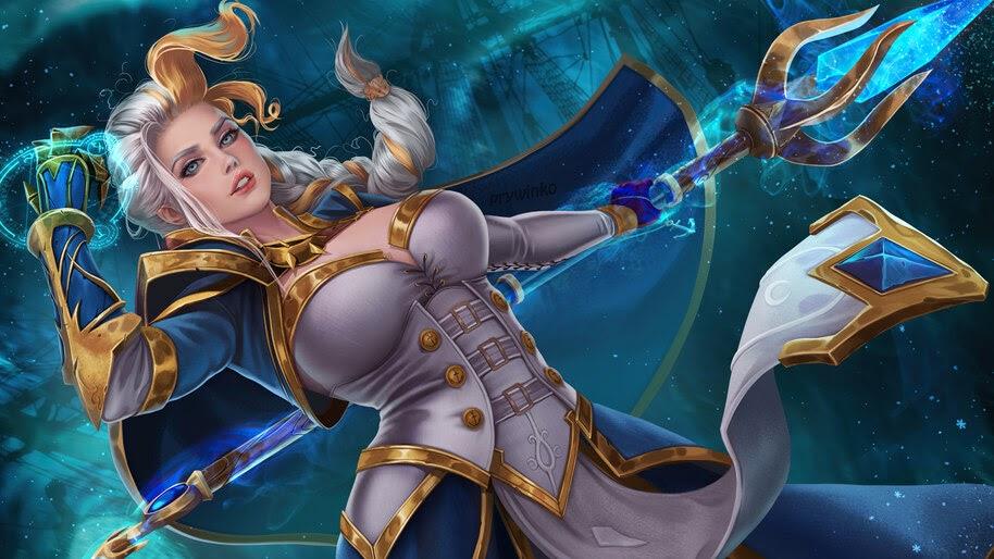 Jaina Proudmoore, World of Warcraft, 4K, #3.2714