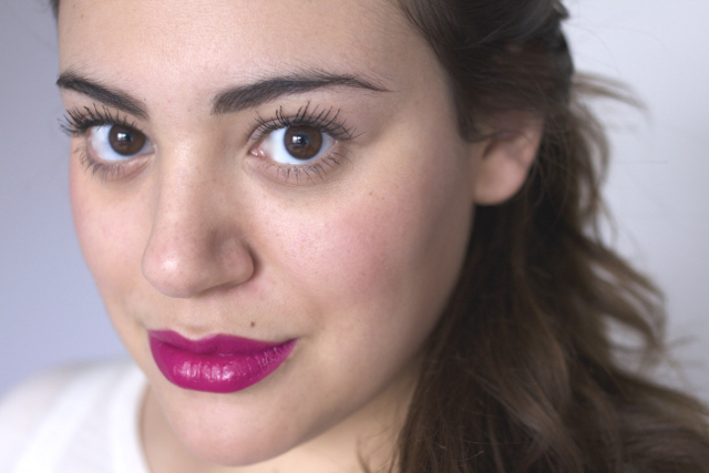 beat those winter blues with a pink lip