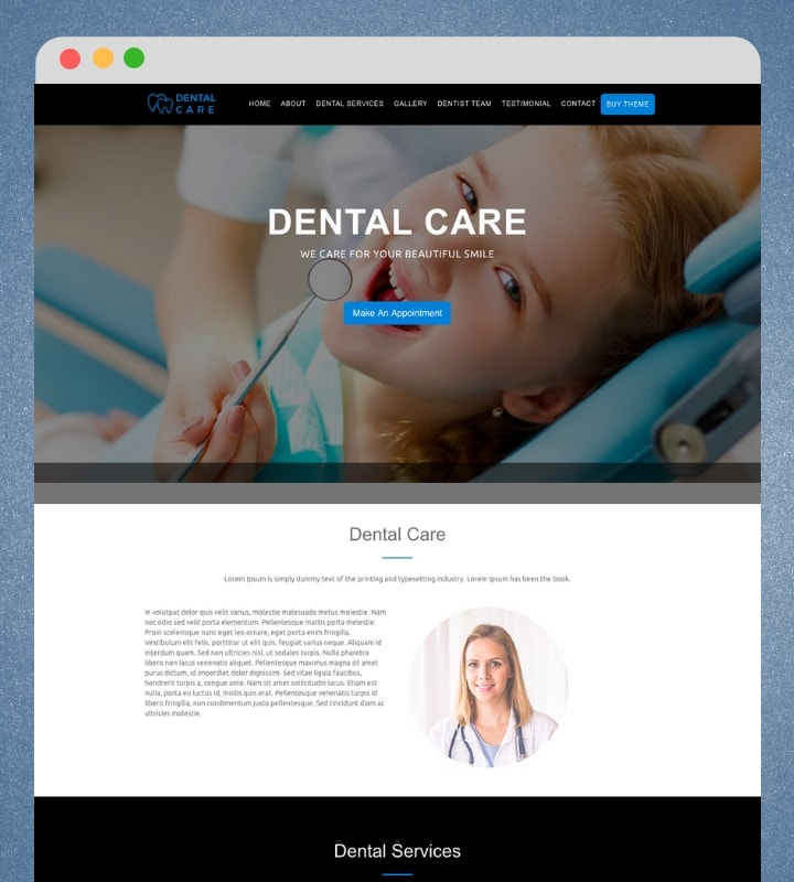 One Page Business Pro (One Page WordPress Theme For Business)