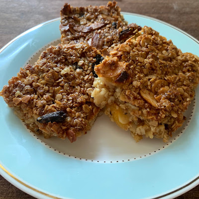 French Village Diaries flapjack recipe Lazy Sunday in France