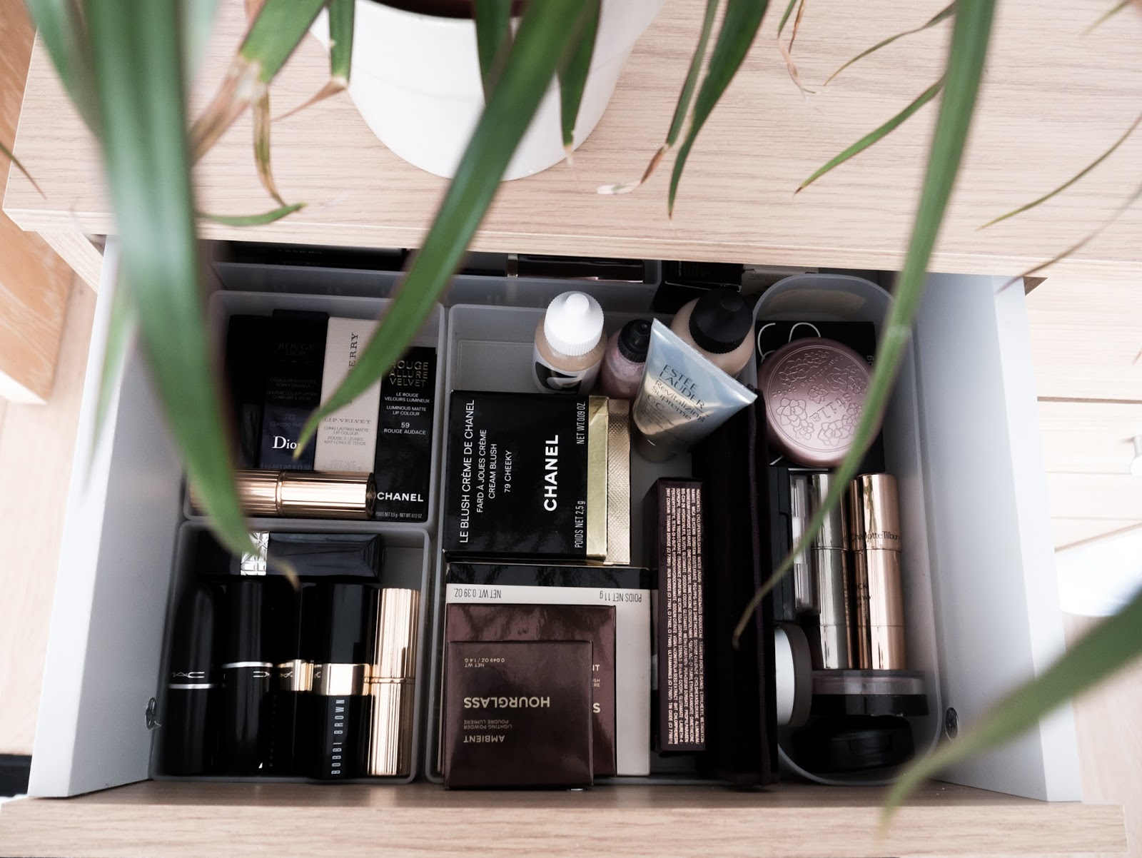 Dressing Table And Makeup Collection