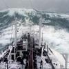 Les vagues monstres