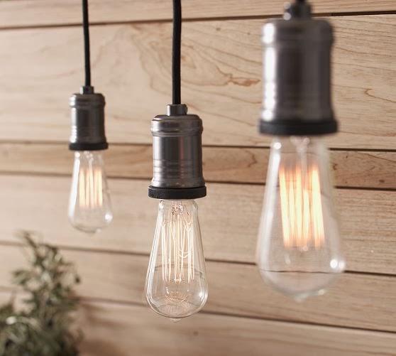 bulbs, exposed bulbs, pottery barn