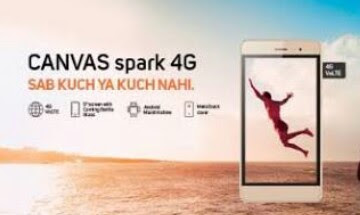 Micromax, Canvas Spark 4G, Micromax Informatics, 4G Smartphone, Volte Supported Mobile
