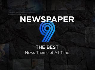 Cara Aktivasi Newspaper WordPress Theme
