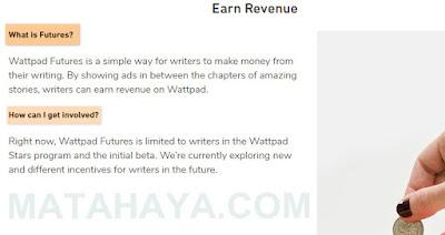 Mendapatkan Uang dari Wattpad