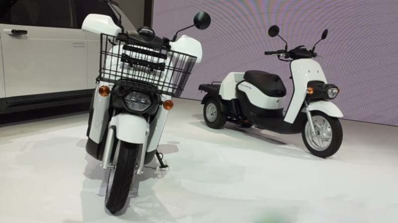 Skuter Listrik Honda Benly Siap Diproduksi, April 2020 Dipasarkan