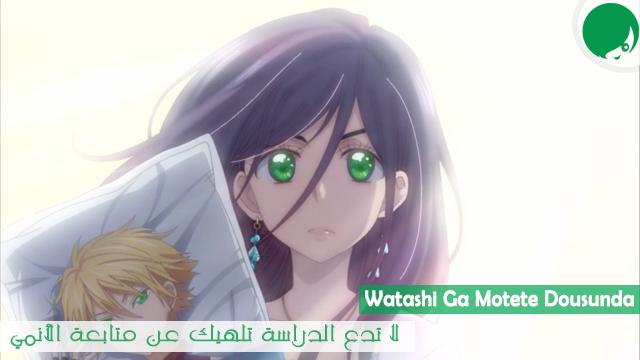 الحلقة الأخيرة من الأنمي الكوميدي Watashi Ga Motete Dousunda مترجم أون لاين