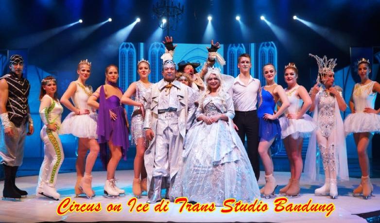 Liburan Akhir Tahun Sambil Nonton Circus on Ice di Trans Studio Bandung