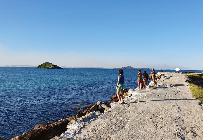 Praia e Ilha do Pontal
