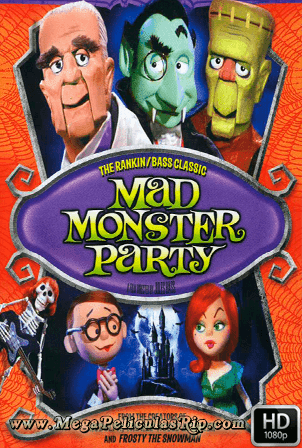 Mad Monster Party [1080p] [Ingles Subtitulado] [MEGA]