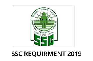SSC Recruitment 2019 - Apply Online for JE, JHT, Jr Translator