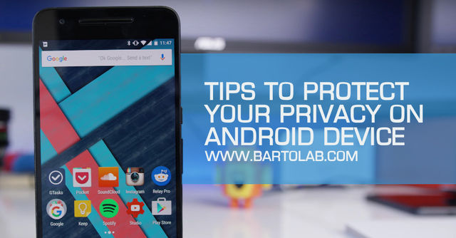 Tips to Protect Privacy on Android