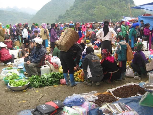 Hoang Su Phi market 3