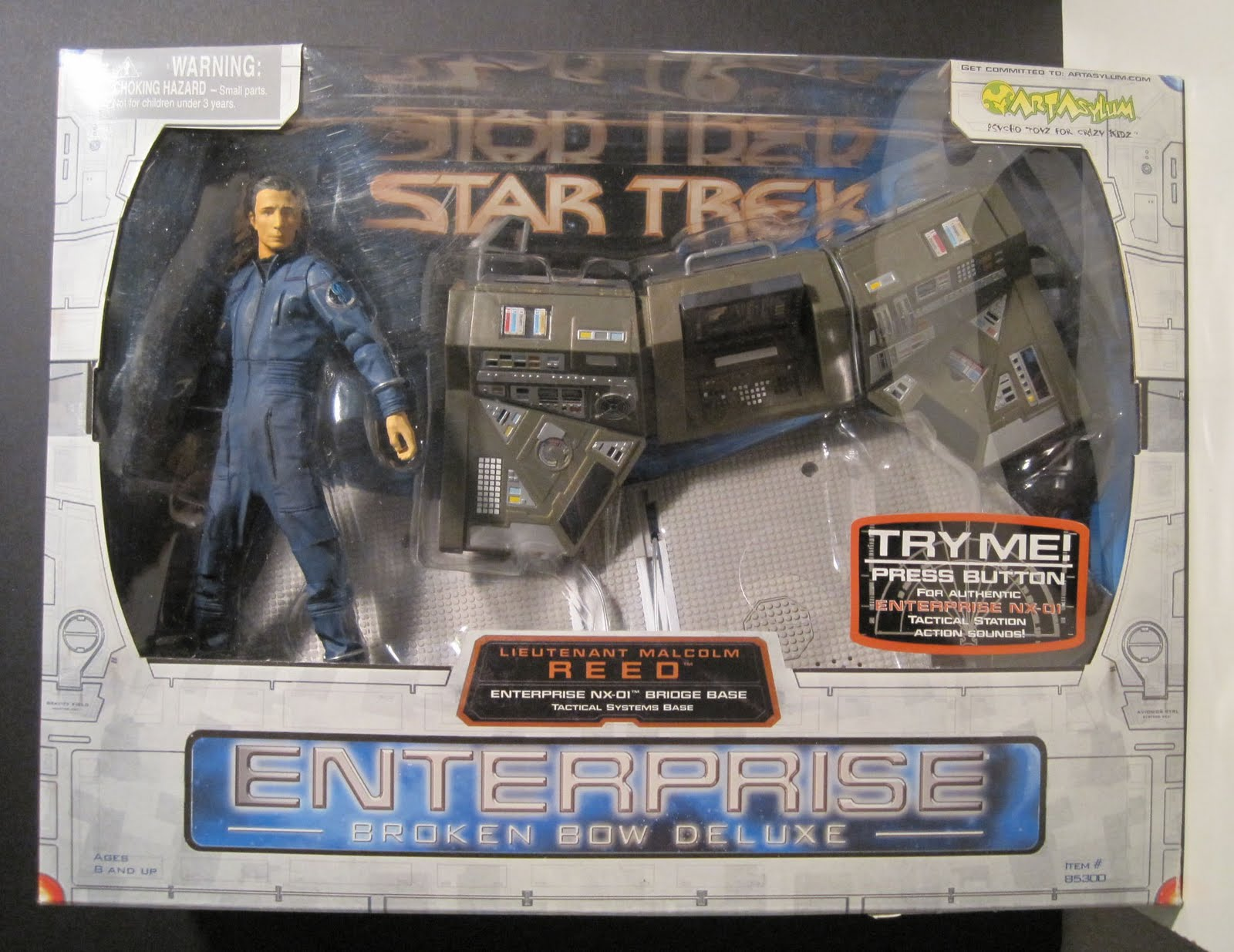 Toy Remix: Star Trek Enterprise Broken Bow Deluxe: Lt